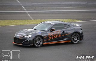 86 Project on the track at WTAC 2014