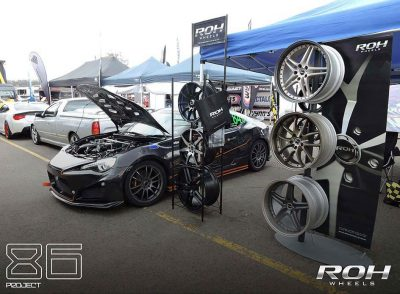 86 Project at the ROH stand