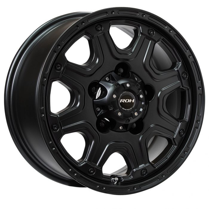 Octagon Black wheel
