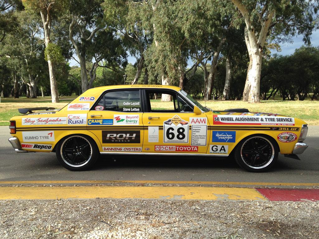Roh Wheels 2014 Australian Muscle Car Rally