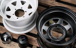 Trak 2 and Blak Trak Steel Wheels