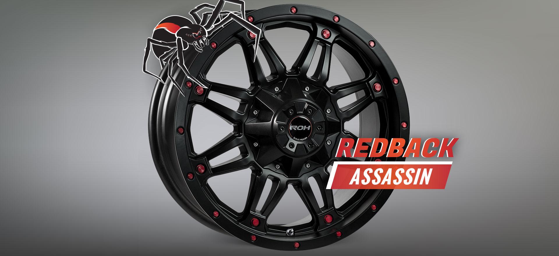 Redback Assassin with Spider