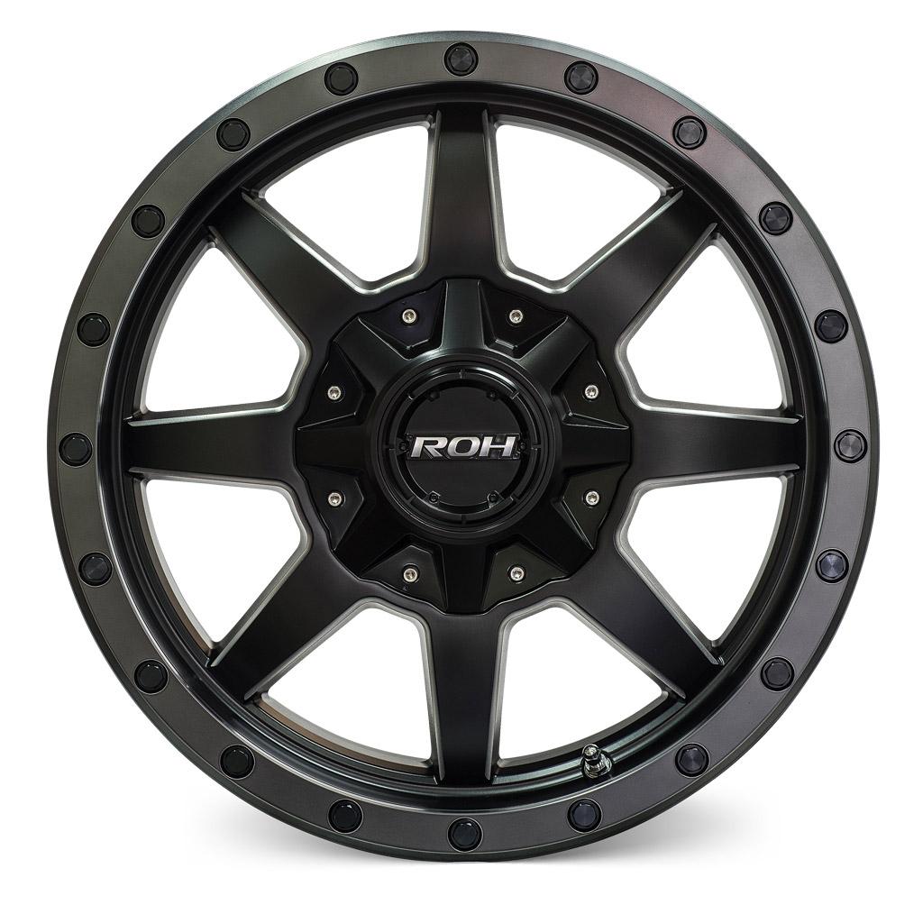ROH Beadlock 4x4 wheel front view