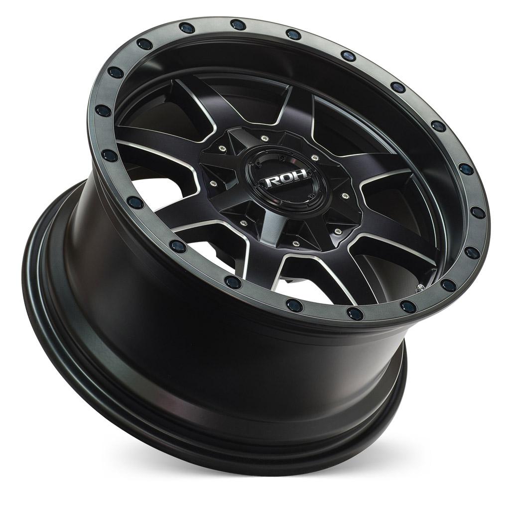ROH Beadlock 4x4 wheel with concave