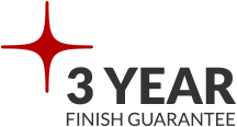 3 Year Finish Guarantee