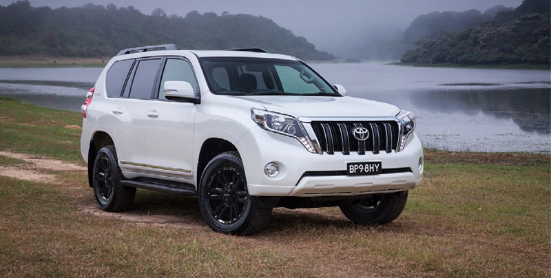 Toyota Prado wheels