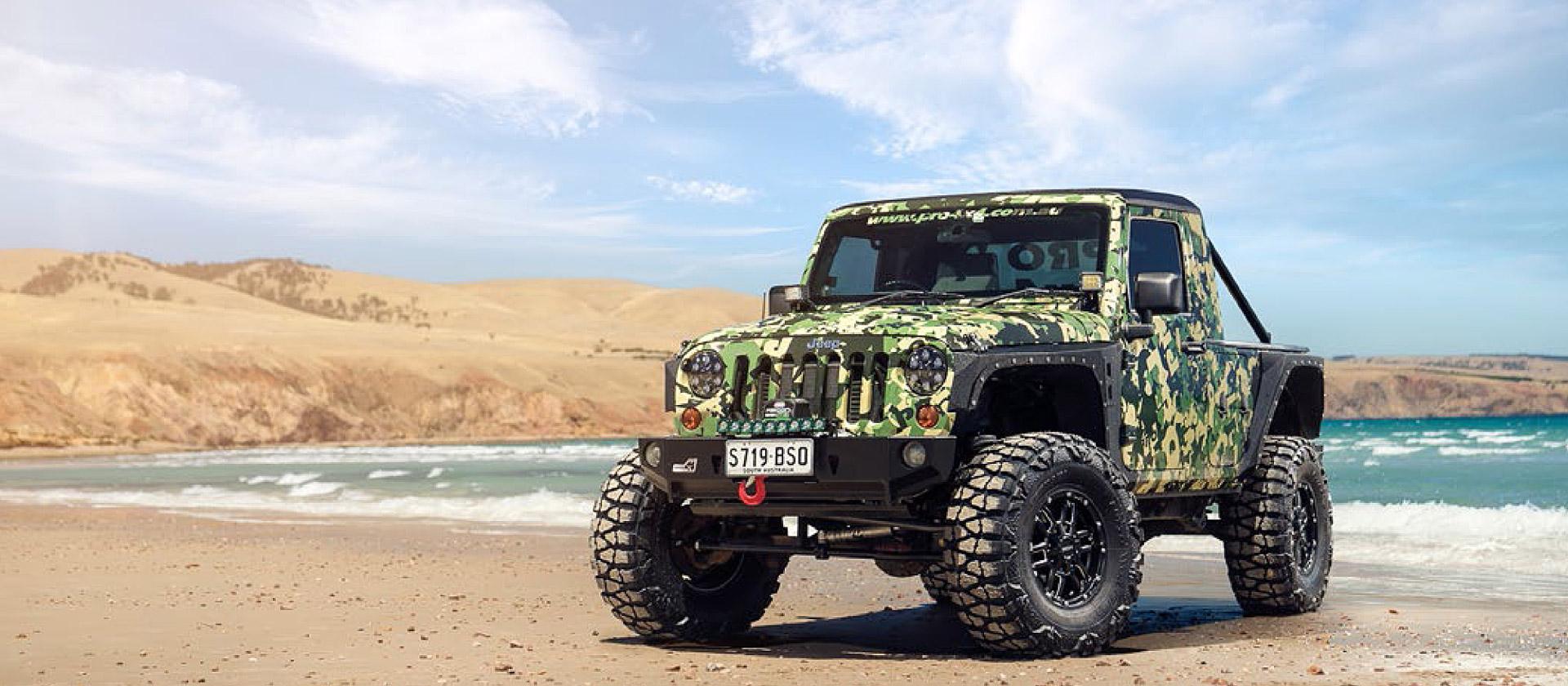 Jeep Wragler Patriot 4x4 wheel