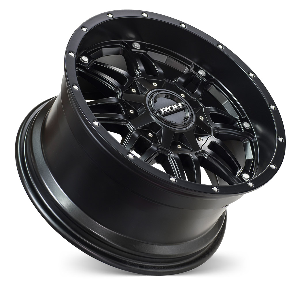 ROH Assassin 4x4 wheel concave with flat cap