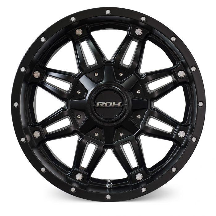 Assassin alloy wheel Flat cap
