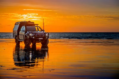 Steel wheels 4WD Touring DMA sunset