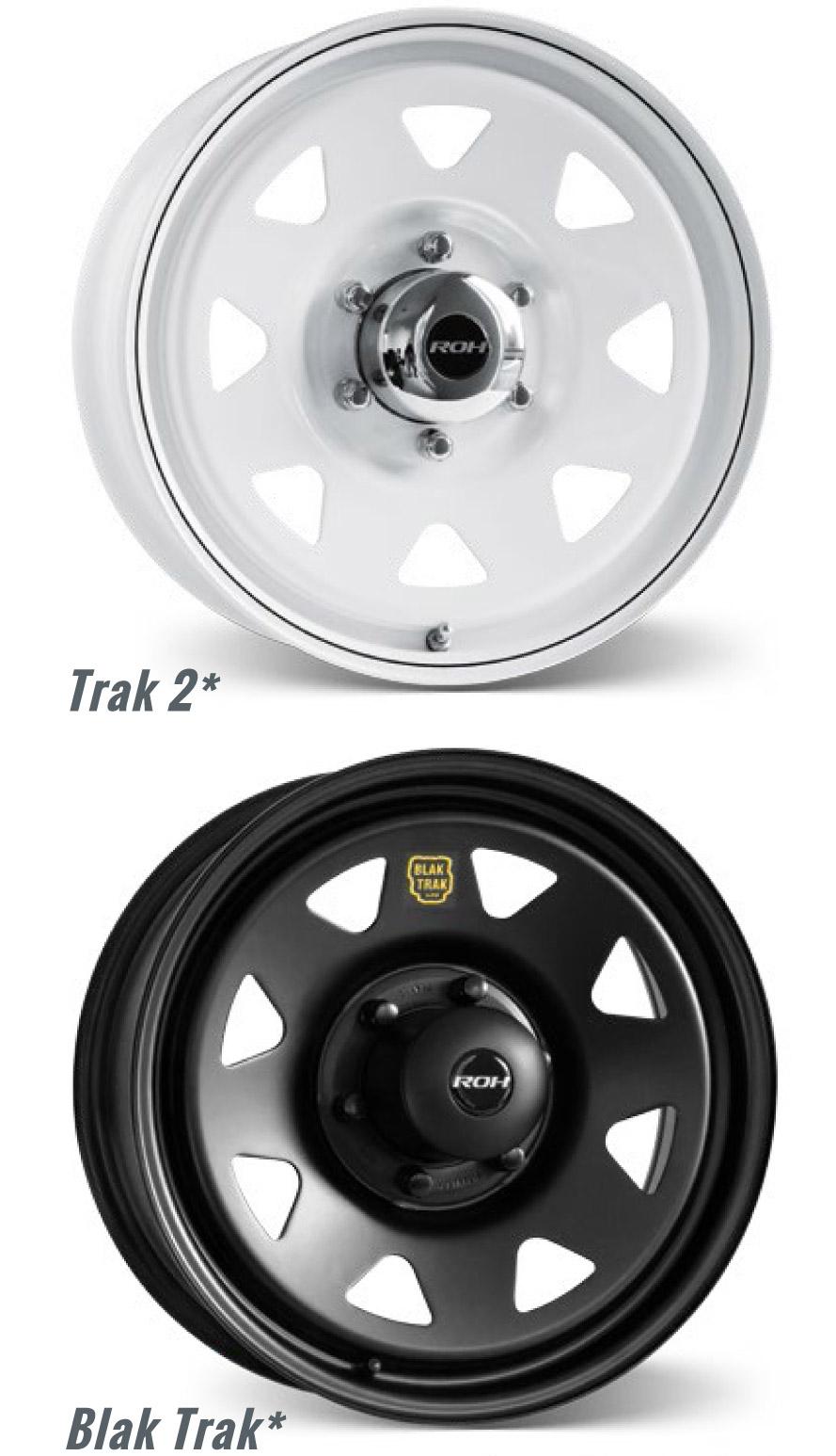 Trak 2 and Blak Trak wheels CBL compatible