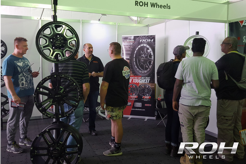 4WD Rims at the ROH stand Sydney 2018