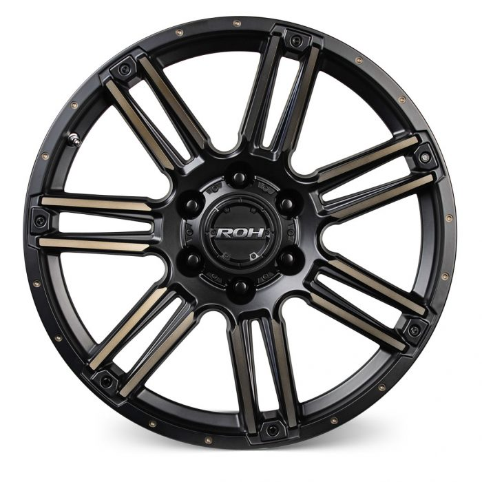 ROH Apache alloy wheel Front view