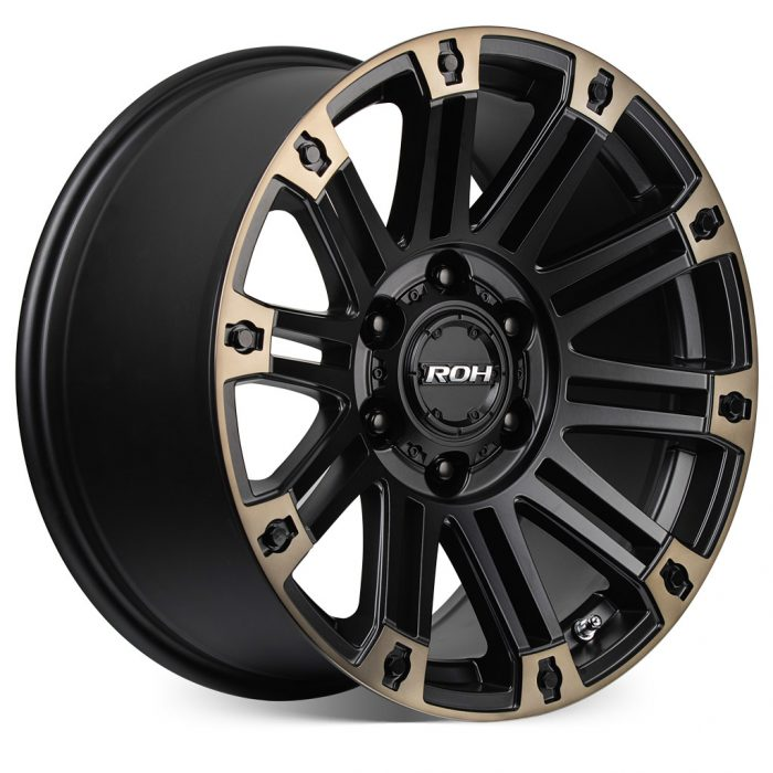 ROH Hostile 4WD wheel with more Angle