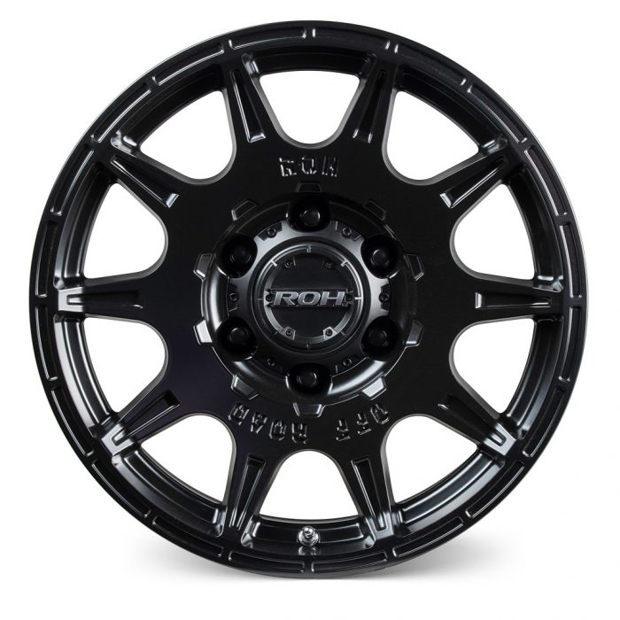 ROH Invader alloy wheel Front view