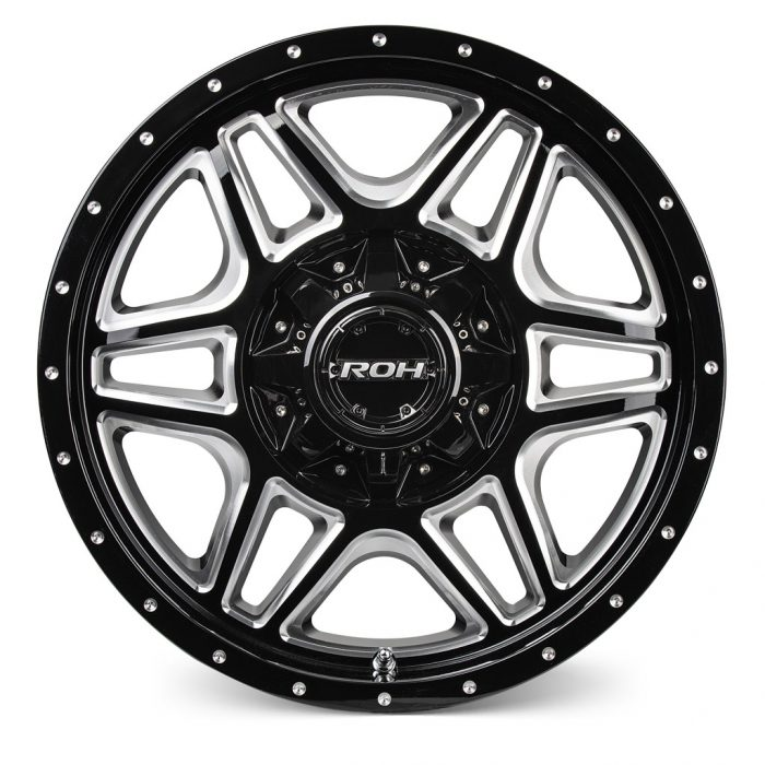 ROH Maverick alloy wheel Front view