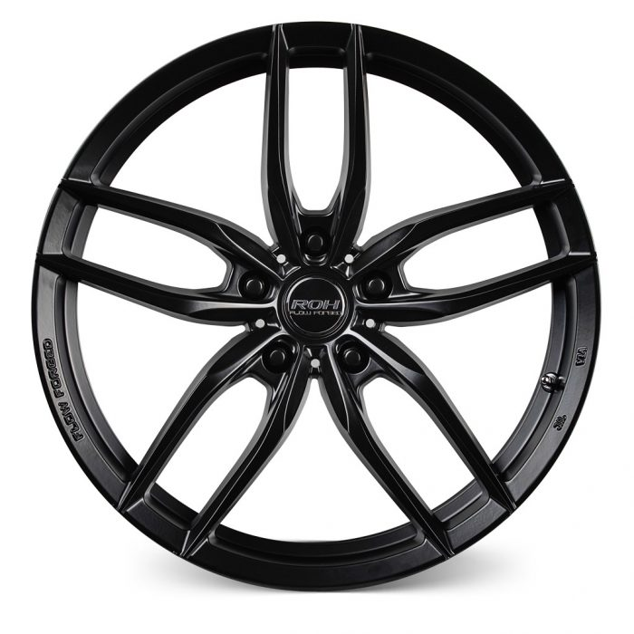 ROH RF3 alloy wheel Front view