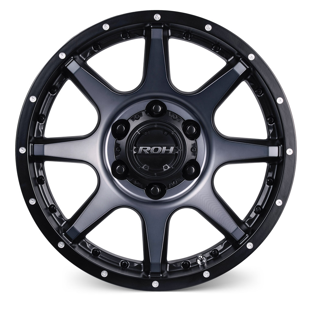 ROH Trophy alloy wheel Front view