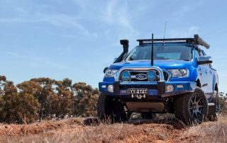 ROH trophy on blue Ford Ranger hero shot