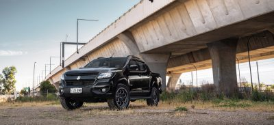 ROH Sniper on black Z71 Holden Colorado hero shot