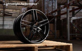 ROH Monaco matt black wheel on pallet