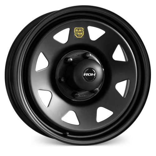 Black Sunraysia Steel Wheel ROH Blak Trak