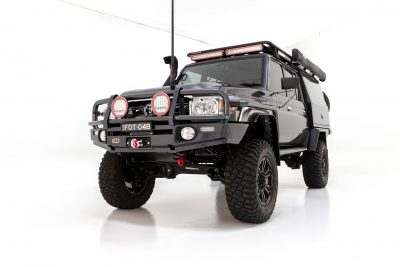 ROH Vapour 4x4 wheels on black 79 Series Toyota LandCruiser TheMighty79