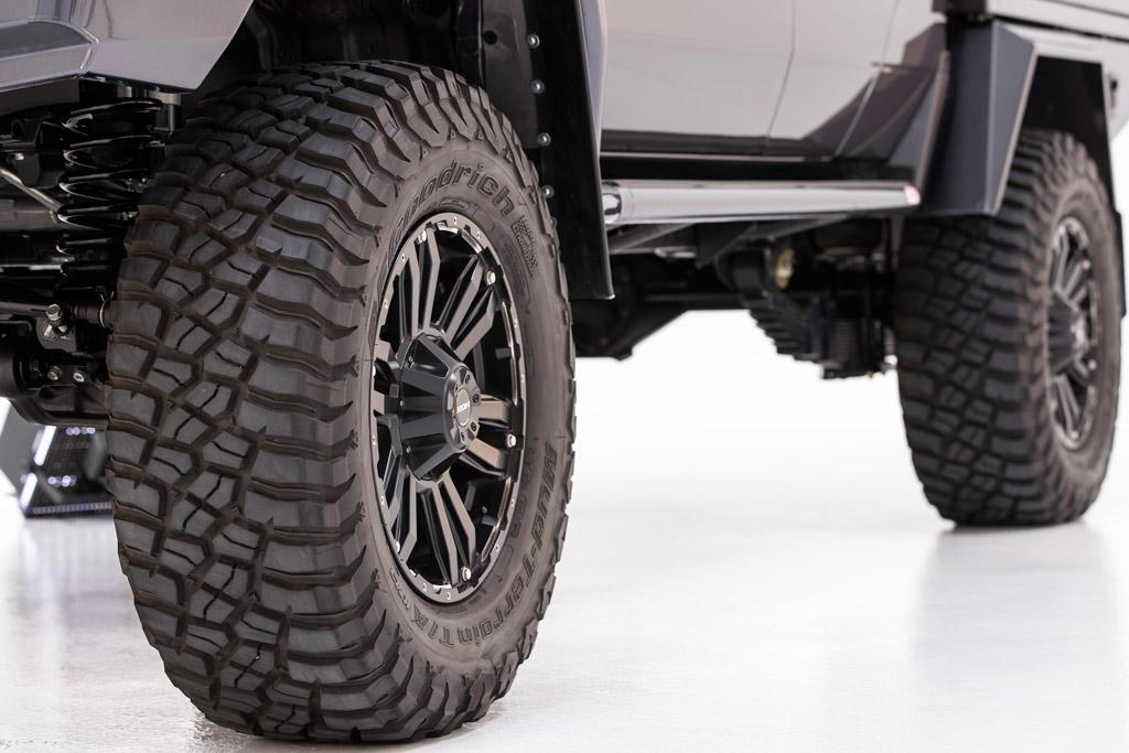 ROH Vapour wheels on 79 Series LandCruiser
