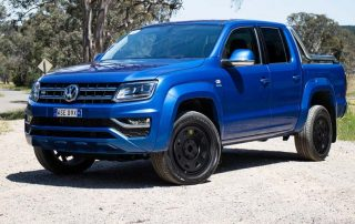 vw amarok v6 hero black trak steel wheel