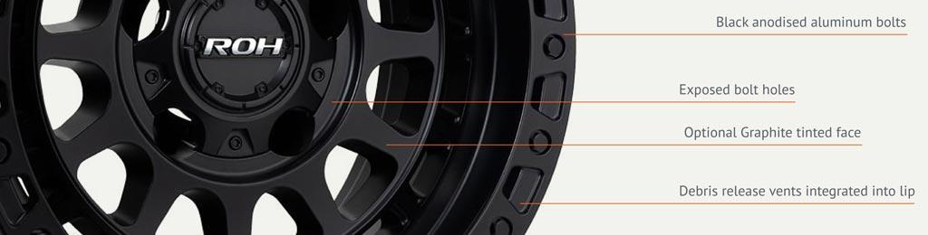 4x4 Assault wheel detail