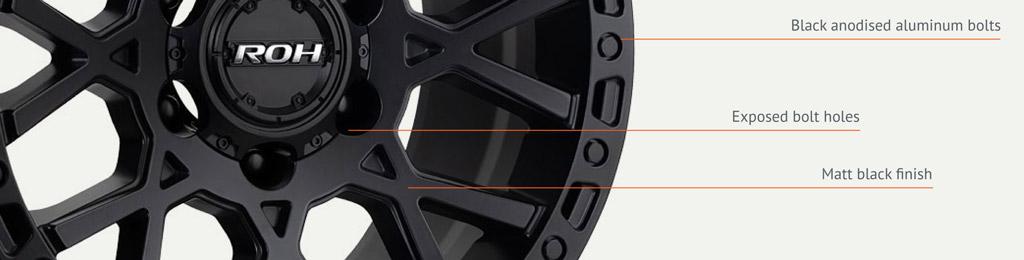 4x4 Crawler wheel detail