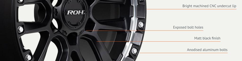 4x4 Havoc wheel detail