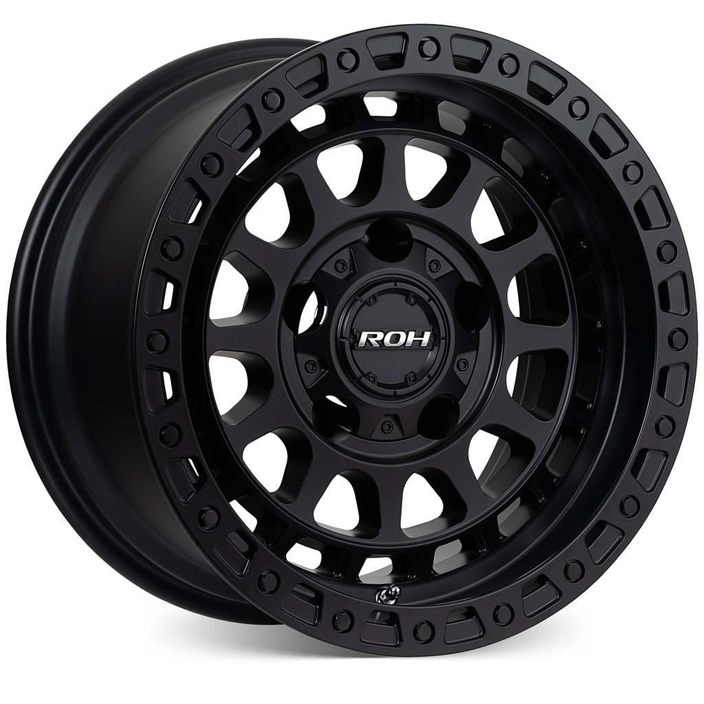 Assault matt black 4x4 wheel