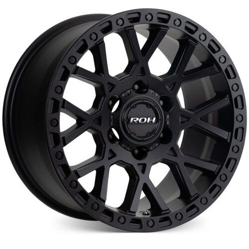Crawler matt black concave 4x4 wheel