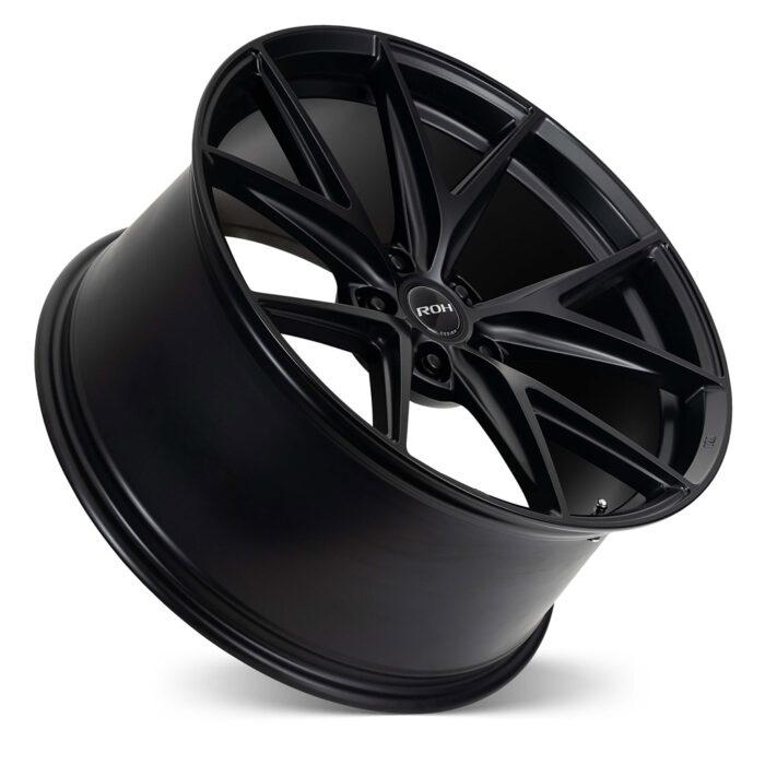 Forza black alloy concave wheel