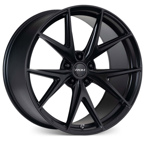 Forza black alloy wheel