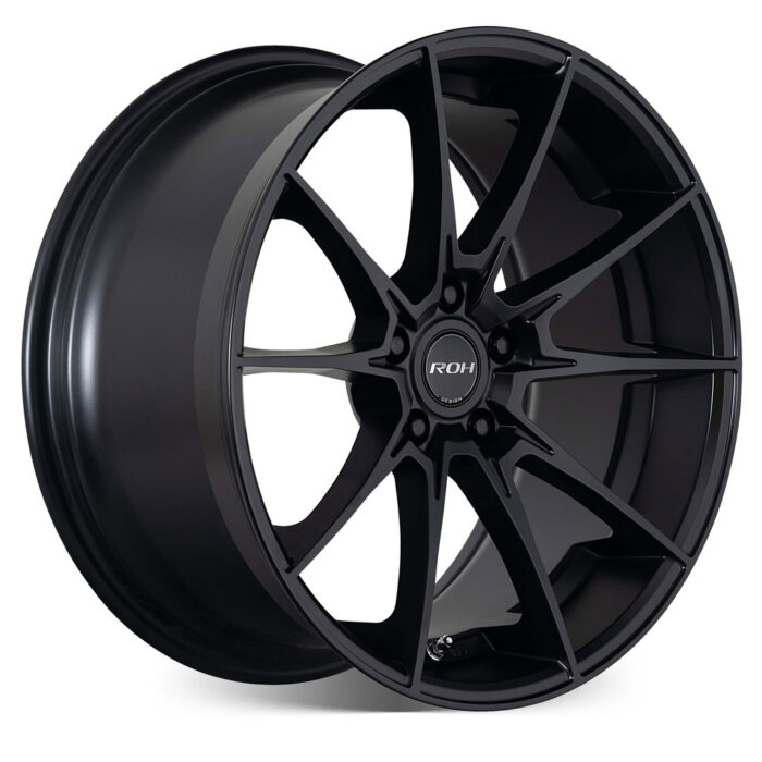 Pursuit black alloy wheel on more angle