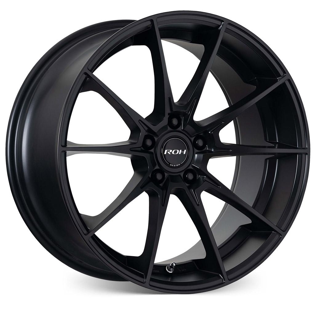 Pursuit black alloy wheel