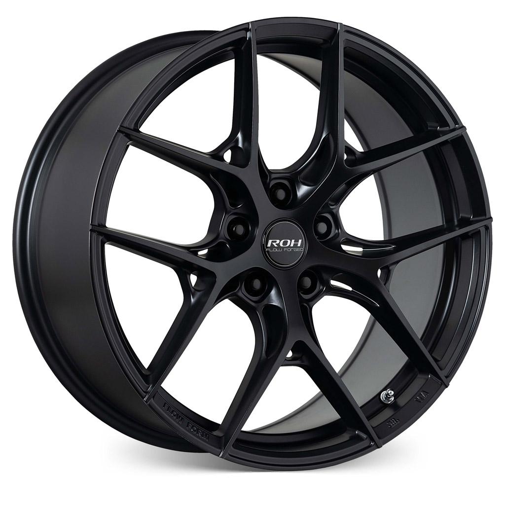 RF6 black flow forged wheel