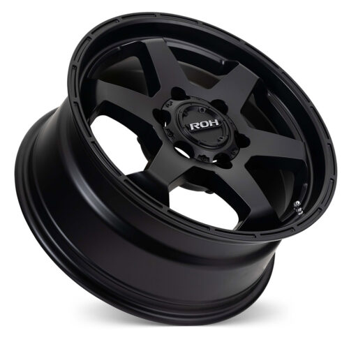 Torque black light commercial wheel on concave angle