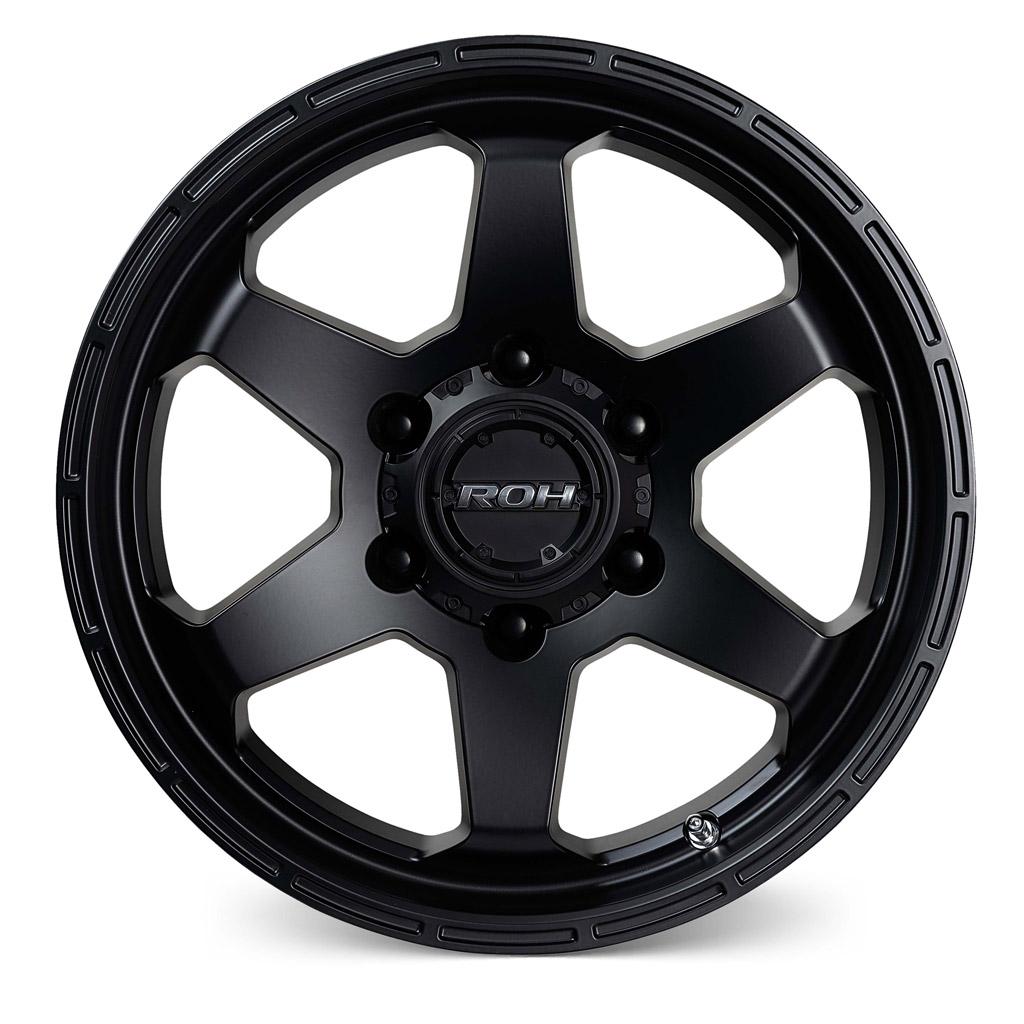 Torque black light commercial wheel front view