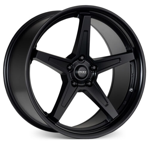 RF5 black flow forged wheel