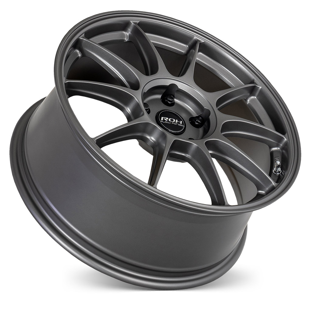 RF7 gunmetal flow forged wheel on concave angle