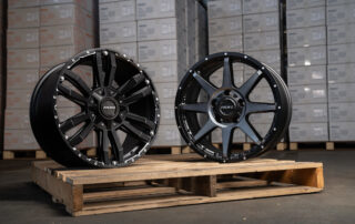 20x9 Vapour and Trophy wheels in warehouse